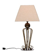 Brass Corindi  Steel Table Lamp