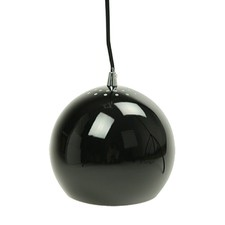 Black Airlie 1 Light Metal Pendant