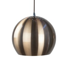 Brown Airlie 1 Light Metal Pendant