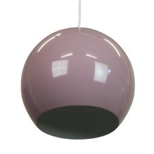 Pastel Violet Airlie 1 Light Metal Pendant
