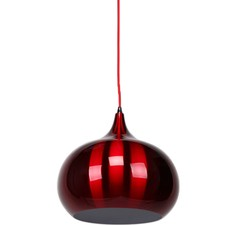Wine Red Kirke Pendant Light