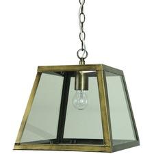Antique Brass Philo Industrial Pendant Light