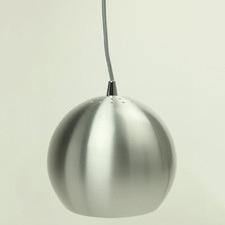 Silver Paradise 1 Light Aluminium Pendant