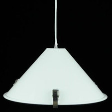 White Manns 1 Light Metal Pendant