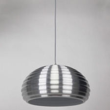 Chrome Bilgola 1 Light Aluminum Pendant