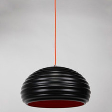 Black Bilgola 1 Light Aluminum Pendant