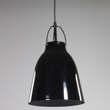 Curl Curl 1 Light Steel Pendant