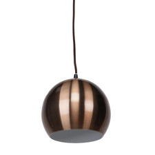 Brown Paradise 1 Light Aluminium Pendant