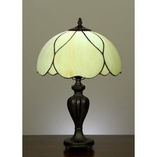 Tiffany Elegant Country Table Lamp in Zinc Alloy