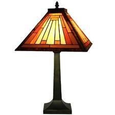 Tiffany One Light Japan Table Lamp