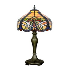 Baroque Tiffany-Style Table Lamp
