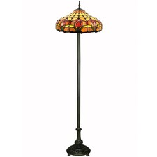 Two Light Tulip Floor Lamp