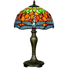 Tiffany Dragonfly Style Table Lamp