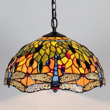Tiffany Dragonfly 2 Light Pendant Light