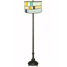 Jamila Tiffany Stained Glass Floor Lamp