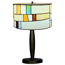Jamila Tiffany Stained Glass Table Lamp