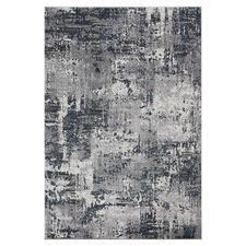 Grey Flake Aslan Power-Loomed Rug