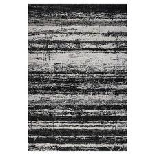 Black & Grey Stretch Amore Power-Loomed Rug