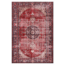 Red Divine Power-Loomed Rug