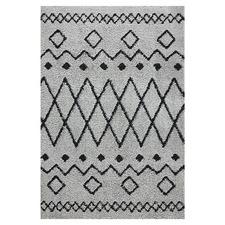 Grey Sketch Mellow Power-Loomed Rug