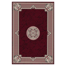 Red Moon Empire Power-Loomed Rug