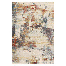Cream Coulee Power-Loomed Rug