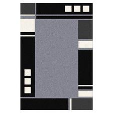 Grey Brick Aslan Power-Loomed Rug