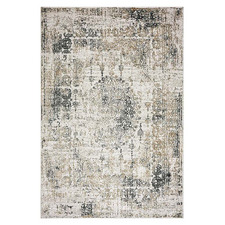Sand Oriental Stella Power-Loomed Rug