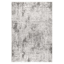 Grey Ikat Maxim Power-Loomed Rug