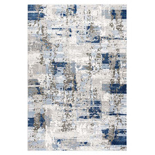 Blue Patch Maxim Power-Loomed Rug
