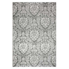 Grey Stella Power-Loomed Rug