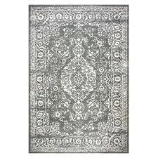 Light Grey Stella Power-Loomed Rug