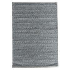 Dark Grey Helsinki Flat Weave Rug