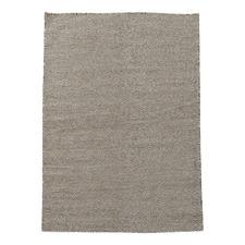 Brown & White Marrakesh Kilim Wool Rug