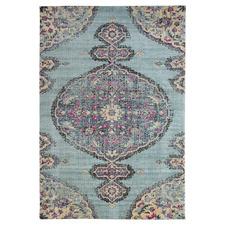 Blue Eastern Way Vintage-Style Rug