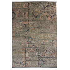Green Cavalli Power-Loomed Rug