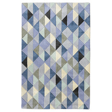 Blue Limelight Hand-Tufted Wool Rug