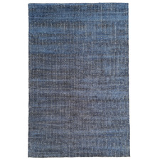 Navy Blue Luca Hand-Loomed Rug