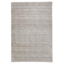 Beige Jacquard Oslo Wool-Blend Rug