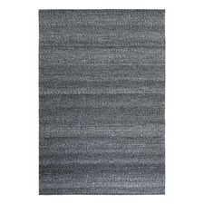 Grey Jacquard Signature Wool-Blend Rug