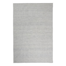 White Jacquard Signature Wool-Blend Rug