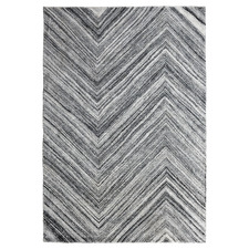 Grey & White Nuevo Wool-Blend Rug