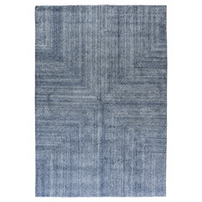 Blue Savana Wool-Blend Rug