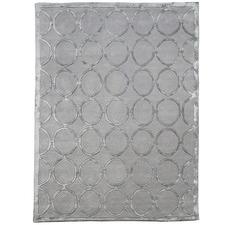 Silver Cleo Wool-Blend Rug