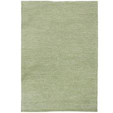 Green Lima Hand-Woven Cotton Rug