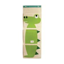 3 Sprouts Crocodile Wall Organizer