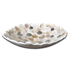Capiz Shell Accent Bowl