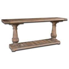 Fir Lumber Stratford Console Table