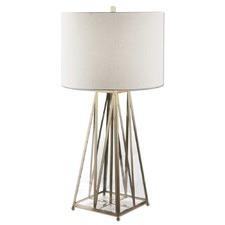 Brass Albanese Metal Table Lamp