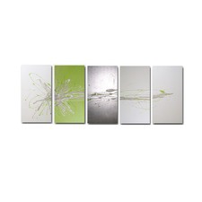 150 cm Abstract Canvas Painting in White